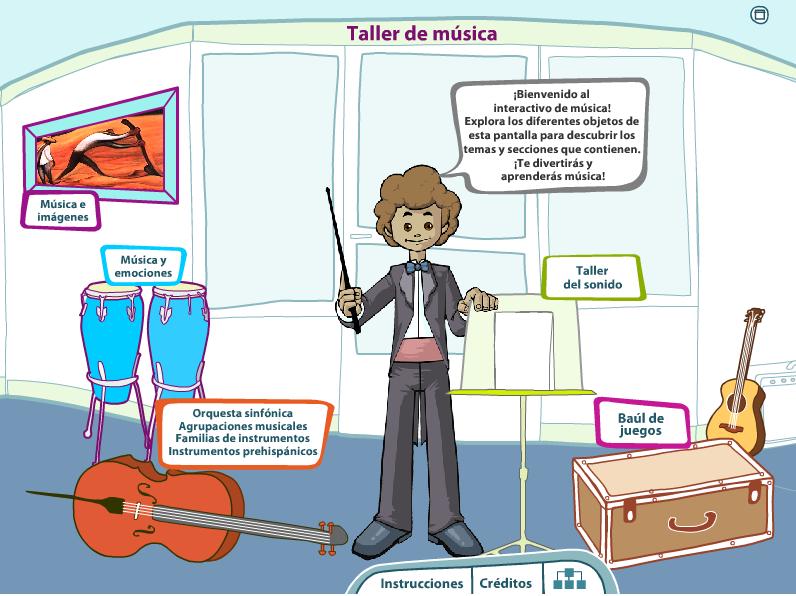 """Taller de Música"""" Recurso musical Interactivo   Recursos Musicales"""