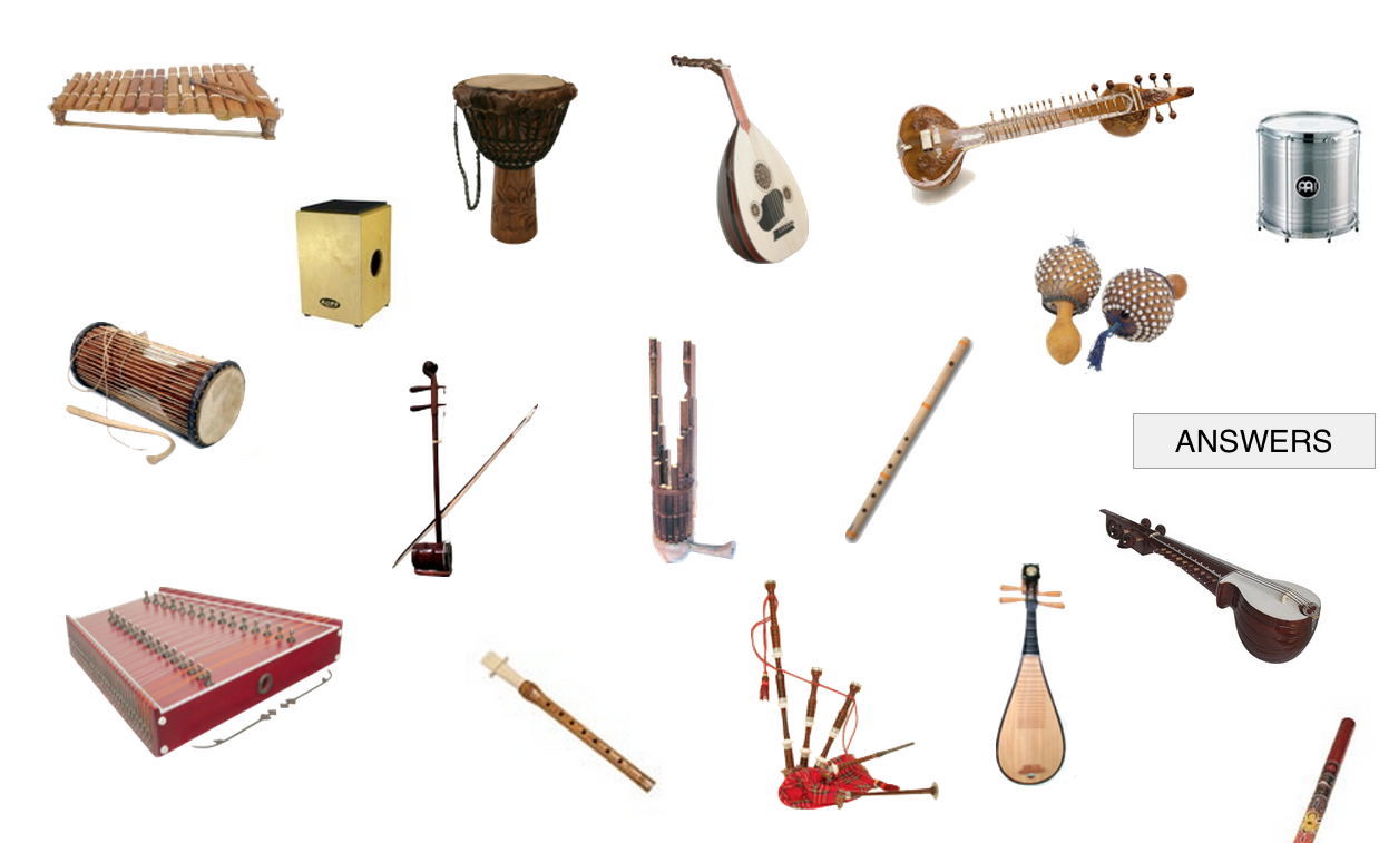 Instrumentos Musicales, Orquesta..   Recursos Musicales