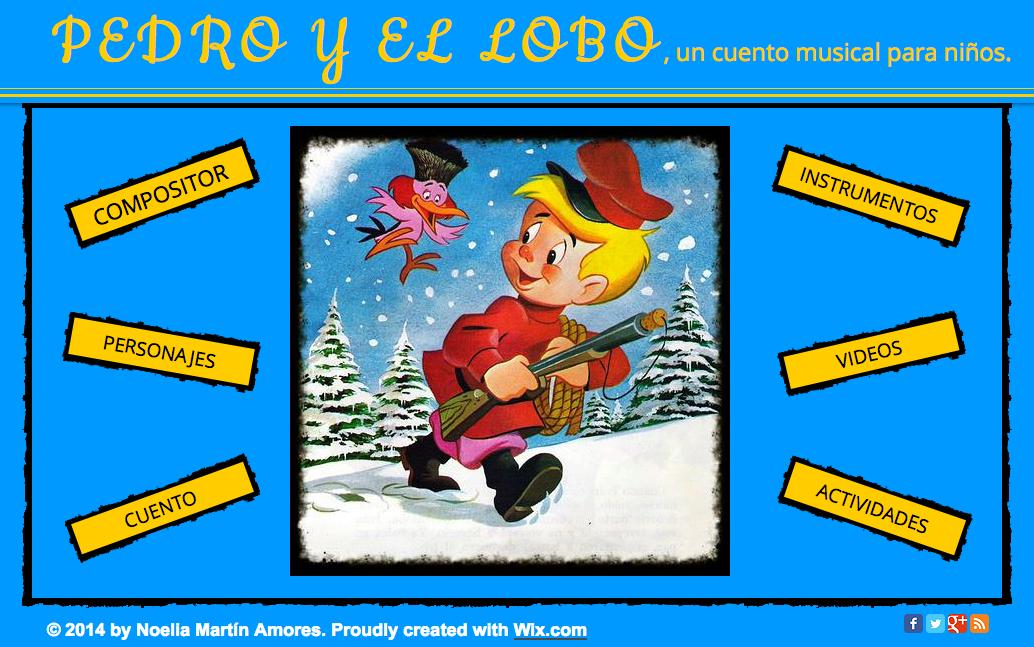 Wix Sobre La Obra Pedro Y El Lobo De Prokofiev Recursos Musicales
