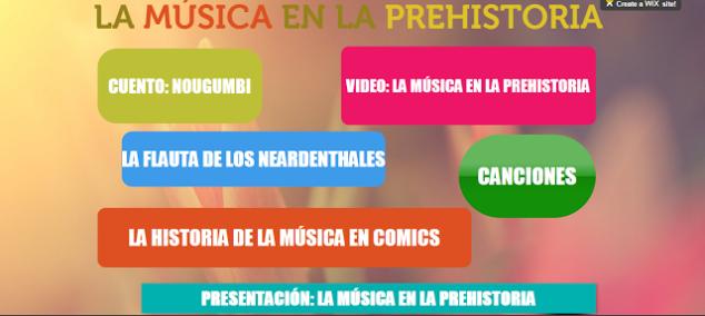 La música en la Prehistoria   Recursos Musicales
